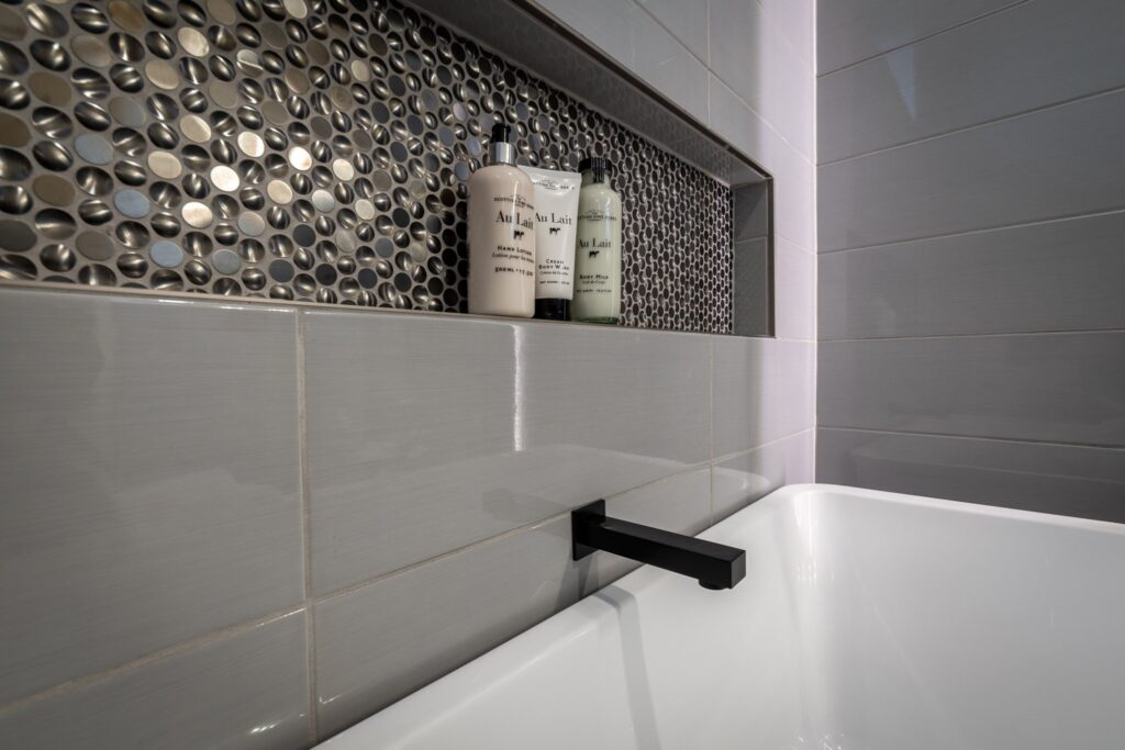 This is an image of remodeled bathtub.